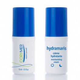 Hydraterende creme + serum in reisverpakking